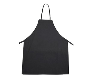 BA-3226BK Winco - Bib Apron full-length